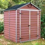6 x 5 Plastic Shed - Palram Amber 65 Skylight 6 x 5 Plastic Shed