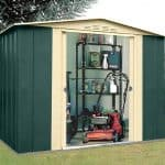 8 X 6 Shed - Shed Baron Grandale Eight Metal 8 x 6 Shed
