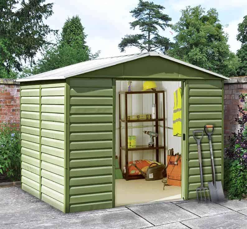 Garden Sheds 8x10 plain garden sheds 8x10 throughout design ideas