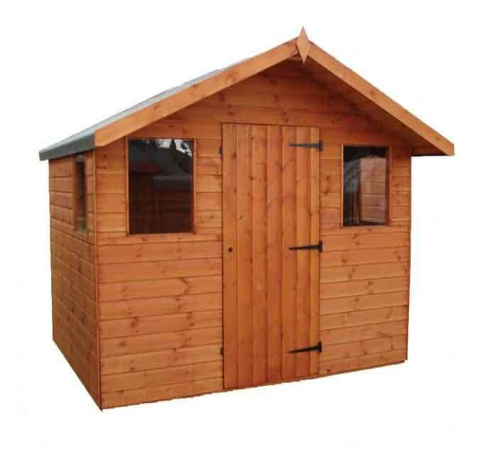 8' x 8' Traditional Cabin Special Deal Garden Shed (2.44m x 2.44m)