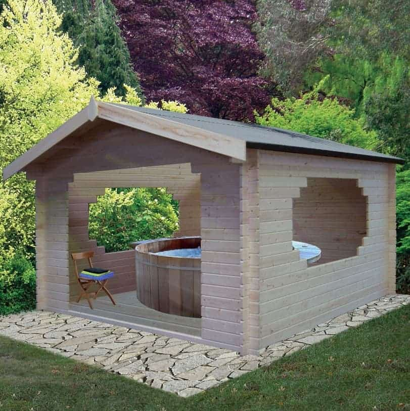 Bere 11 x 11 Loglap Cheap Log Cabins