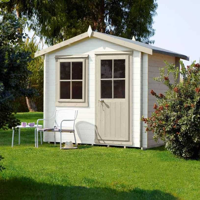 Shire Montford 3.2m x 3.2m Log Cabin Summerhouse (28mm)