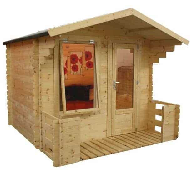 Walton Mini Studio Cheap Log Cabins With Veranda