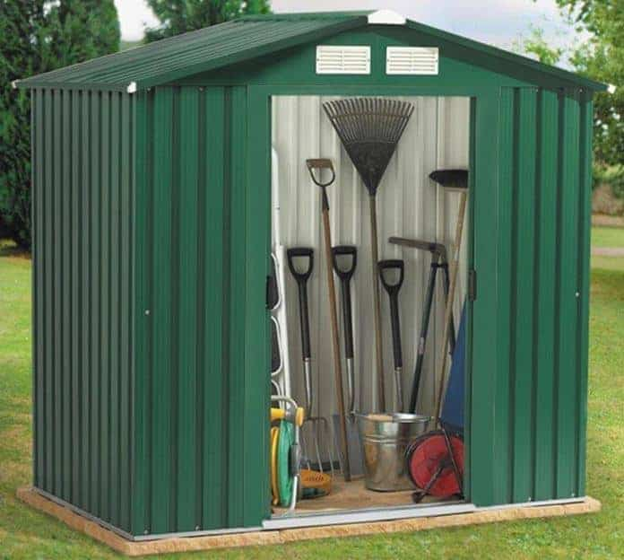 BillyOh Partner Apex Metal Shed