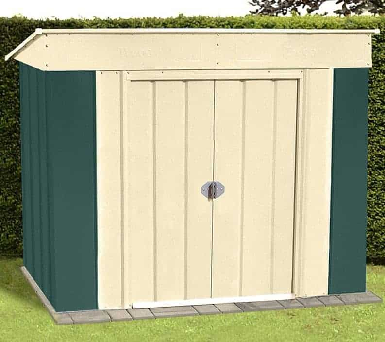 cheap metal sheds