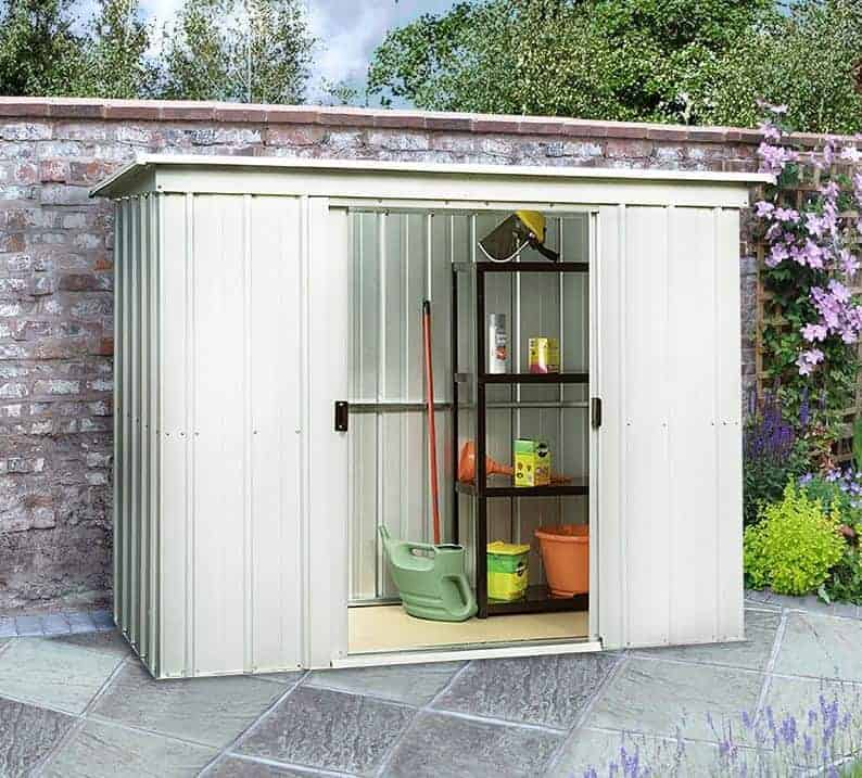 Cheap metal sheds who has the best for Garden shed 6 x 4 cheap