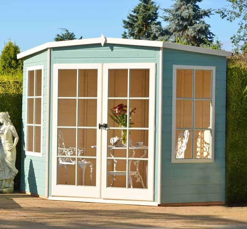 7'5 x 7'5 Shire Hampton Garden Summerhouse
