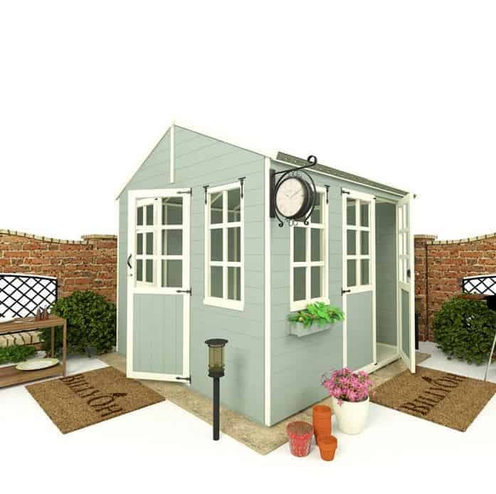 BillyOh 5000 8' X 8' Corner Summer House