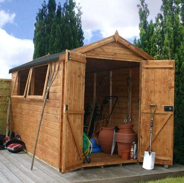 10x6 Waltons Groundsman Tongue and Groove Apex Garden Shed