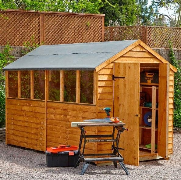 Big sheds who has the best big sheds for sale in the uk for Large sheds for sale cheap