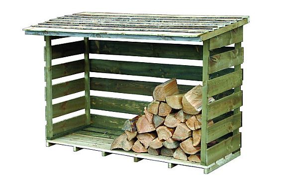 Arbor Garden Solutions Wooden Log Store