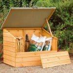 Garden Storage Boxes - Store-Plus Garden Storage Boxes 4' X 3' Shiplap Storage Box