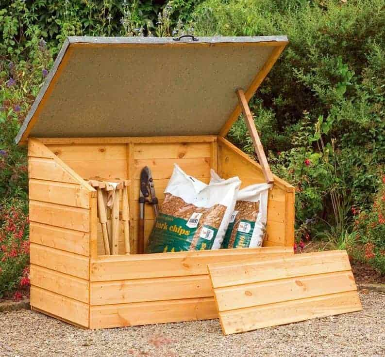 Garden storage boxes top 20 garden storage boxes for Garden and storage sheds