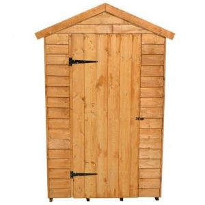 Hartwood 6' x 4' FSC Overlap Apex Shed Front View