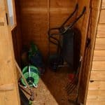 Hartwood 6' x 4' FSC Overlap Apex Shed Internal View