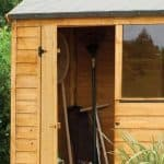 Hartwood 6' x 4' FSC Overlap Reverse Apex Shed Cladding