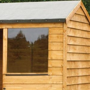 Hartwood 6' x 4' FSC Overlap Reverse Apex Shed Styrene Glazing Window