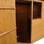 Hartwood 6' x 4' FSC Pent Shed Left Internal View