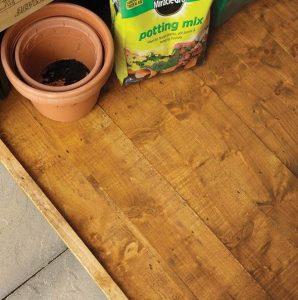 Hartwood 6' x 4' FSC Premium Overlap Apex Shed Flooring