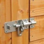 Hartwood 6' x 4' FSC Premium Overlap Apex Shed Security Lock
