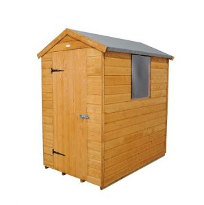 Hartwood 6' x 4' FSC Shiplap Apex Shed Left Side View
