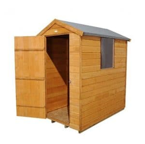 Hartwood 6' x 4' FSC Shiplap Apex Shed Left View