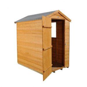 Hartwood 6' x 4' FSC Shiplap Apex Shed Open Inside