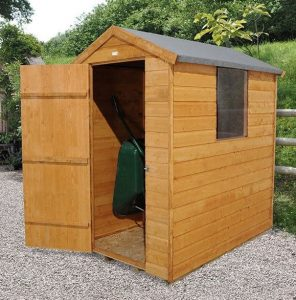 Hartwood 6' x 4' FSC Shiplap Apex Shed Side View