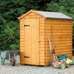 Hartwood 6' x 4' FSC Windowless Overlap Apex Shed