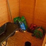 Hartwood 7' x 5' FSC Pent Shed Internal View