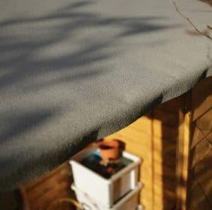 Hartwood 7' x 5' FSC Premium Overlap Shed Mineral Felt Roof