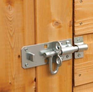 Hartwood 7' x 5' FSC Premium Overlap Shed Secured Door