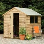 Hartwood 8' x 6' FSC Pressure Treated Overlap Apex Shed