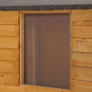 Hartwood 8' x 6' Premium FSC Overlap Apex Shed Styrene Window