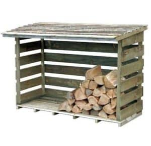 Hartwood FSC Large Woodstore Left Side