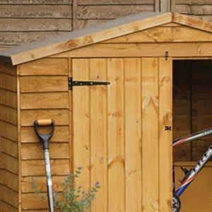 Hartwood FSC Overlap Timber Bike Store Cladding