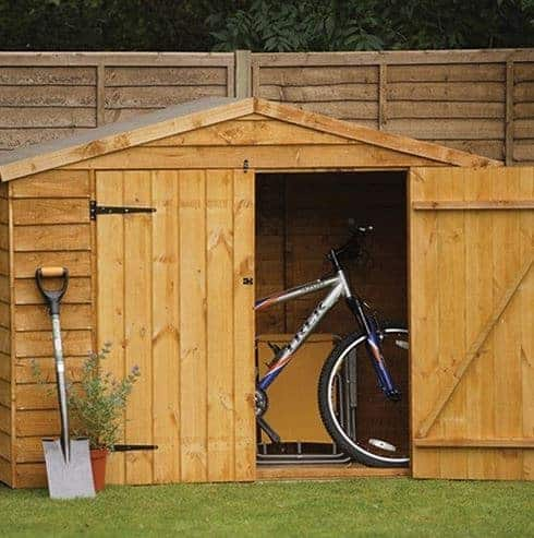 Hartwood FSC Overlap Timber Bike Store