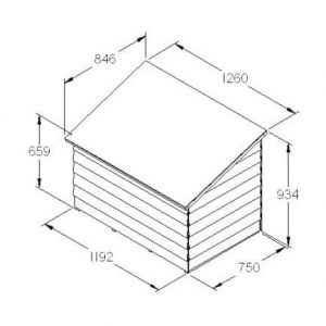 Hartwood FSC Overlap Tool Chest Dimensions
