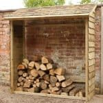 Hartwood FSC Wall Log Store