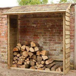 Hartwood FSC Wall Log Store