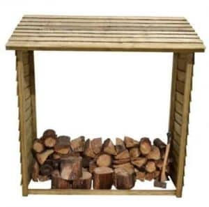 Hartwood FSC Wall Log Store Front View