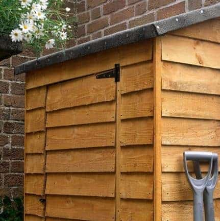 Hartwood Overlap Fsc Garden Wall Store What Shed