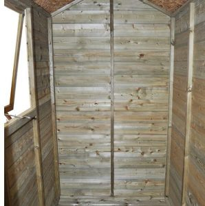 Hartwood Premium 6' x 4' FSC Tongue and Groove Apex Shed Inside View