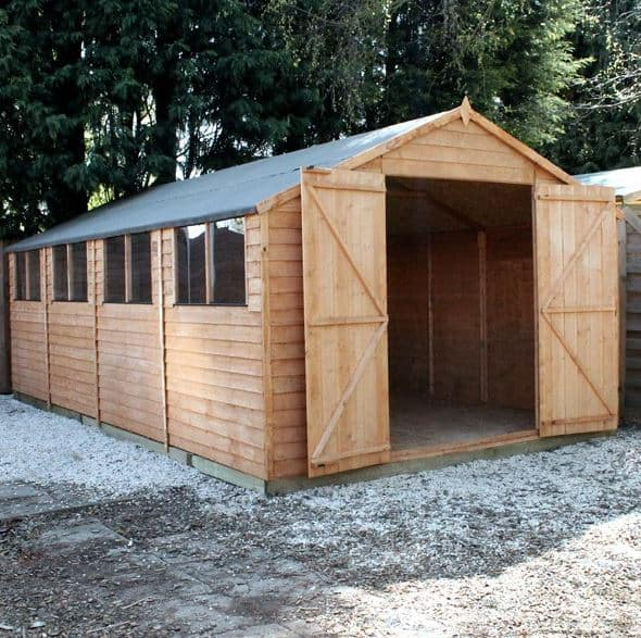 Large Prefab Garages : Large shed offers deals who has the best right now