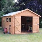 Large Shed - 20 x 10 Tongue And Groove Large Shed