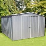 Large Shed - Absco Regent 5ZA Zinc Metal Large Shed