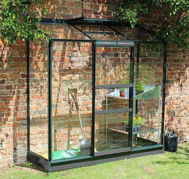 65 x 24 Halls Wall Garden 26 Greenhouse (1.94 x 0.69m)