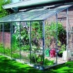 Lean-To Greenhouse - Eden 612 Lean To Greenhouse 6'3 X 12'4