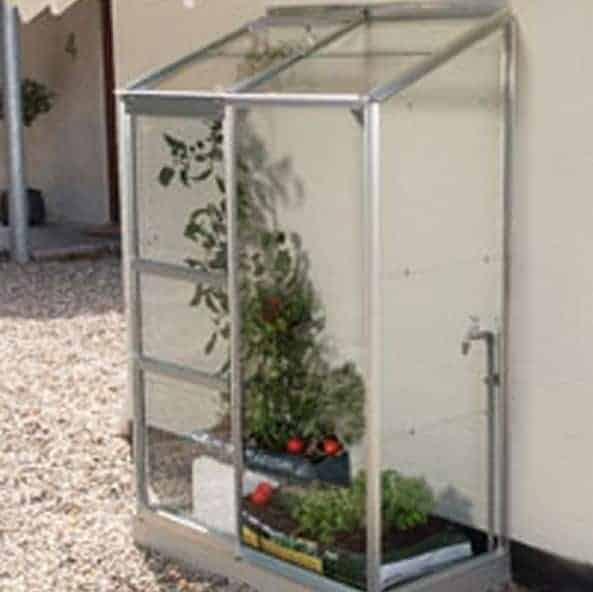 Garden Grow Compact Greenhouse 4x2ft