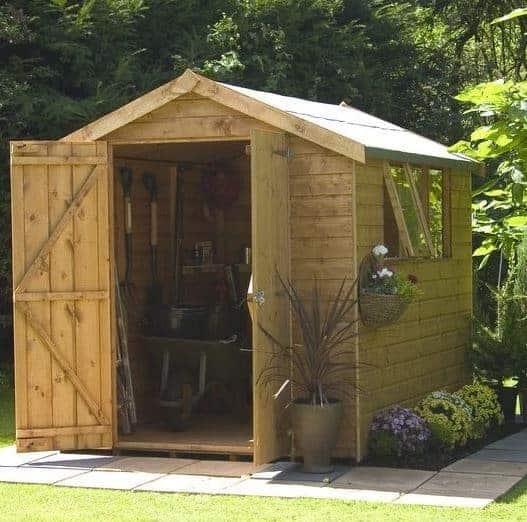 Garden Sheds 7x7 fine garden sheds 7x7 roughneck xlarge storage shed d inside decor